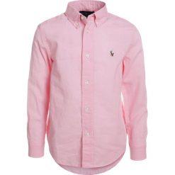 Polo Ralph Lauren Koszula carmel pink. Szare bluzki dziewczęce marki Polo Ralph Lauren, l, z bawełny, button down, z długim rękawem. Za 269,00 zł.