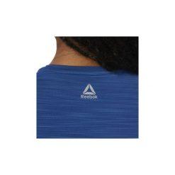 T-shirty z krótkim rękawem Reebok Sport  Koszulka ACTIVCHILL Graphic. Niebieskie bluzki sportowe damskie Reebok Sport, l, z krótkim rękawem. Za 159,00 zł.