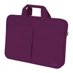 """D-Lex LX-051R-DP 13,3"""" - 14""""  fioletowa. Fioletowe torby na laptopa D-lex, z materiału. Za 59,90 zł."""