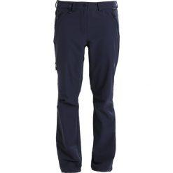 Jack Wolfskin ACTIVATE WOMEN Spodnie materiałowe midnight blue. Niebieskie bryczesy damskie Jack Wolfskin, z elastanu. Za 419,00 zł.