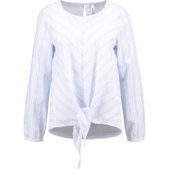 Bluzki asymetryczne: Soyaconcept ISIDORA Bluzka pearl blue combi