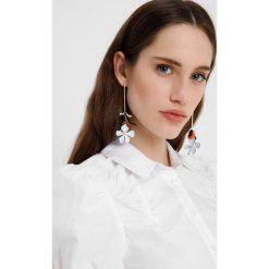 Koszule wiązane damskie: Lost Ink Petite ROUCHED DETAIL Koszula white