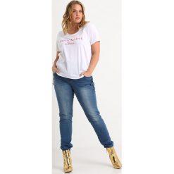 ADIA ROME BUTTONS Jeansy Slim Fit blue medium. Niebieskie jeansy damskie ADIA. Za 419,00 zł.