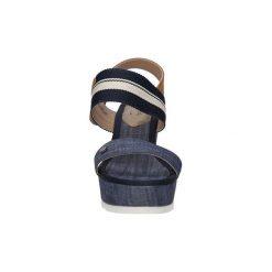 Sandały Wrangler  SANDAŁY  SUNSHINE JEENA WL161630. Czarne sandały damskie Wrangler. Za 199,99 zł.