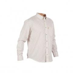 Koszula myśliwska MONTRIEUX. Szare koszule męskie na spinki marki LIGNE VERNEY CARRON, m, z polaru. Za 99,99 zł.