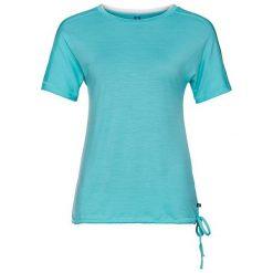 Odlo Koszulka Tunic NATURAL 100% MERINO WARM           - 110471 - 110471/20402/S. Niebieskie topy sportowe damskie Odlo, s. Za 215,29 zł.