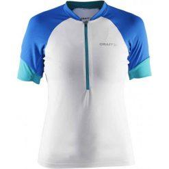 Craft Koszulka Rowerowa Classic W White S. Białe bluzki sportowe damskie marki Craft, s, z klasycznym kołnierzykiem. W wyprzedaży za 179,00 zł.