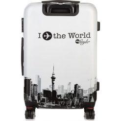MAŁA WALIZKA TWARDA POLIWĘGLAN. Brązowe walizki marki producent niezdefiniowany, z kauczuku, małe. Za 279,00 zł.
