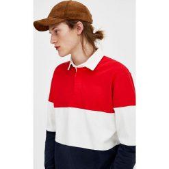 Koszulki polo: Koszulka polo w paski z długim rękawem