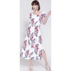 Sukienki: Biała Sukienka Dancing All Night