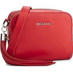 Torebka BELLUCCI - R-264 Ciemny Pomarańczowy. Czarne listonoszki damskie marki Bellucci. W wyprzedaży za 179,00 zł.