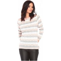 La Belle Parisienne Sweter Damski Elise L Jasnoróżowy. Szare swetry klasyczne damskie marki La Belle Parisienne, l. Za 129,00 zł.