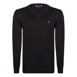 Giorgio Di Mare Sweter Męski L Czarny. Czarne swetry klasyczne męskie marki Giorgio di Mare, l, z bawełny. W wyprzedaży za 169,00 zł.