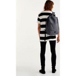 Plecaki męskie: Szary płócienny plecak