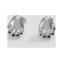 Kolczyki damskie: Kenzo PAW  Kolczyki silver