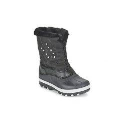 Śniegowce Dziecko Citrouille et Compagnie  FAMINO. Czarne buty zimowe chłopięce Citrouille et Compagnie. Za 139,30 zł.