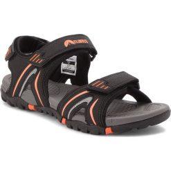 Sandały ELBRUS - Morton  Black/Orange. Czarne sandały męskie skórzane ELBRUS. W wyprzedaży za 129,00 zł.