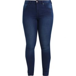 Boyfriendy damskie: Zizzi AMY LONG Jeans Skinny Fit blue denim