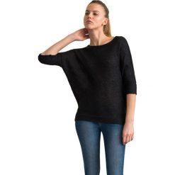 """Swetry klasyczne damskie: Sweter """"Fori"""" w kolorze czarnym"""