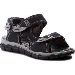 Sandały PRIMIGI - 1396011 M Blu Sc. Niebieskie sandały chłopięce Primigi, z materiału. W wyprzedaży za 159,00 zł.