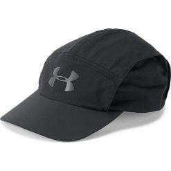 Under Armour Czapka męska Packable Run Cap czarna (1305013-001). Czarne czapki z daszkiem męskie marki Under Armour. Za 84,64 zł.