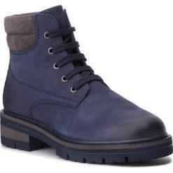 Trapery SERGIO BARDI - Amaseno FW127352018VF 407. Niebieskie buty zimowe damskie Sergio Bardi, z nubiku. W wyprzedaży za 169,00 zł.
