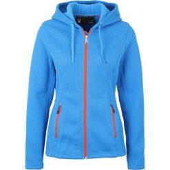 Spyder ENDURE HOODY MID  Kurtka z polaru french blue. Niebieskie kurtki sportowe damskie Spyder, s, z materiału. W wyprzedaży za 434,85 zł.
