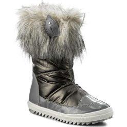Kozaki dziewczęce: Śniegowce BARTEK – 27385/82GU Srebrny Szary