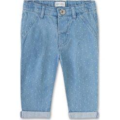 Jeansy dziewczęce: Dżinsy w kolorze błękitnym
