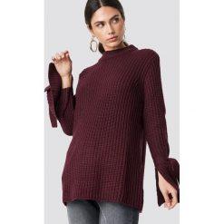 Rut&Circle Sweter Samira Knot Knit - Purple. Szare golfy damskie marki Vila, l, z dzianiny, z okrągłym kołnierzem. Za 121,95 zł.