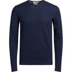 Kardigany męskie: Sweter z dekoltem V z bawełny i kaszmiru