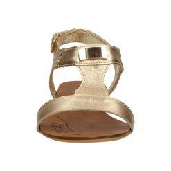 SANDAŁY CASU 597/1. Brązowe sandały damskie Casu. Za 139,99 zł.