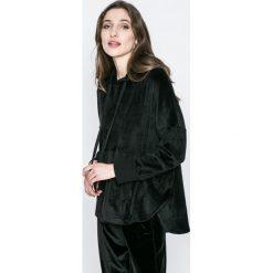 Dkny - Bluza piżamowa. Czarne piżamy damskie marki DKNY, m, z dzianiny. W wyprzedaży za 179,90 zł.