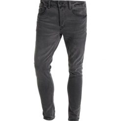 Only & Sons ONSWARP RAW EDGE Jeans Skinny Fit black denim. Brązowe jeansy męskie relaxed fit marki Only & Sons, l, z poliesteru. Za 169,00 zł.