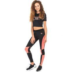 IQ Damskie legginsy Eirene Wmns Black/shell Pink r. L. Czarne legginsy sportowe damskie IQ, l. Za 72,32 zł.