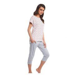 Piżama Cindy 055/106. Czerwone piżamy damskie marki DOMYOS, z elastanu. Za 71,90 zł.