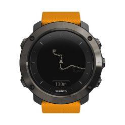Zegarek unisex Suunto Traverse SS021844000. Brązowe zegarki męskie marki Orsay, s, z dzianiny. Za 1799,00 zł.