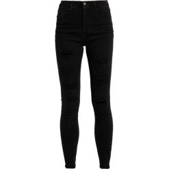 Rurki damskie: Missguided SINNER Jeans Skinny Fit black
