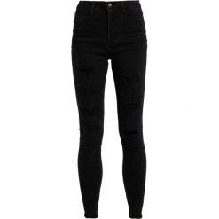 Missguided SINNER Jeans Skinny Fit black. Czarne rurki damskie Missguided. W wyprzedaży za 126,75 zł.