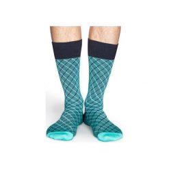 Skarpetki Happy Socks Dressed SQO34-7000. Czarne skarpetki męskie Happy Socks, z bawełny. Za 56,00 zł.