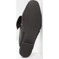 Chodaki damskie: Bianco BOW LOAFER Klapki black