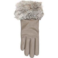 Rękawiczki damskie. Szare rękawiczki damskie marki Gino Rossi, ze skóry. Za 139,90 zł.