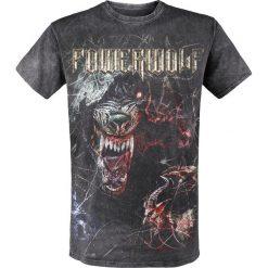 Powerwolf TSOS - Wolf T-Shirt ciemnoszary. Szare t-shirty męskie z nadrukiem Powerwolf, xl, z dekoltem na plecach. Za 121,90 zł.