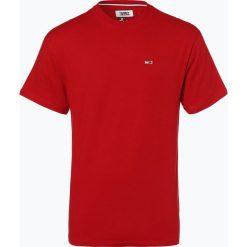 T-shirty męskie: Tommy Jeans - T-shirt męski, czerwony