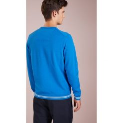 BOSS ATHLEISURE RIMEX Sweter bright blue. Niebieskie swetry klasyczne męskie marki BOSS Athleisure, m. Za 499,00 zł.