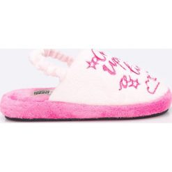 Gioseppo - Kapcie dziecięce + opaska do włosów. Różowe kapcie dziewczęce Gioseppo, z gumy. W wyprzedaży za 89,90 zł.