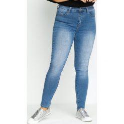 Spodnie damskie: Niebieskie Jeansy Hot Streak