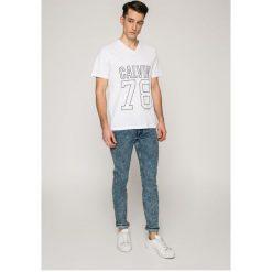 Levi's - Jeansy Line 8 Economics Stretch. Brązowe jeansy męskie skinny marki Levi's®. W wyprzedaży za 199,90 zł.