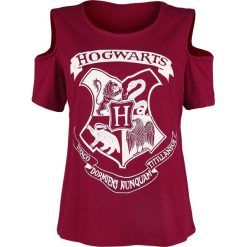 Bluzki asymetryczne: Harry Potter Häuser Koszulka damska burgund