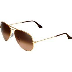 Okulary przeciwsłoneczne męskie: RayBan AVIATOR LARGE METAL Okulary przeciwsłoneczne light bronzecoloured/pink gradient